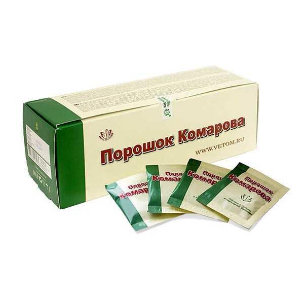 Порошок Комарова