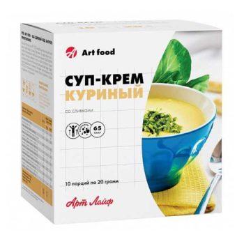 Суп-крем «Куриный со сливками»