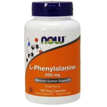 L-Фенилаланин (L-Phenylalanine) Now Foods