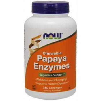 Папайя ферменты (Papaya Enzymes) Now Foods
