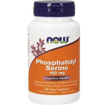 Фосфатидилсерин (Phosphatidyl Serine) Now Foods