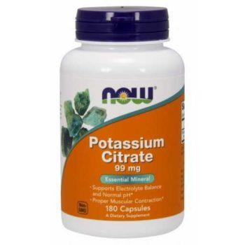 Калий Цитрат (Potassium Citrate) Now Foods