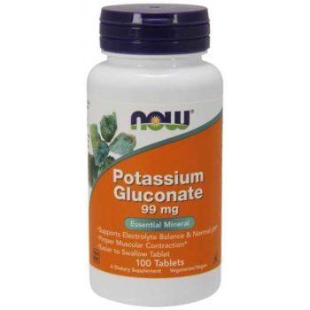 Калий Глюконат (Potassium Gluconate) Now Foods