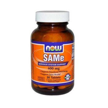 САМе (S-аденозил-L-метионин) (SAMe) Now Foods