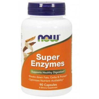 Супер Энзимы (Super Enzymes) Now Foods