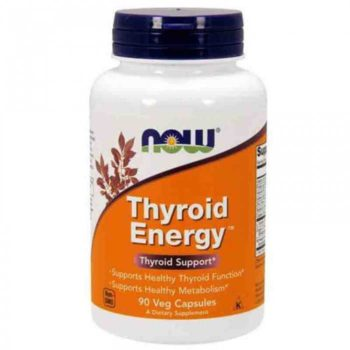 Тироид Энерджи (Thyroid Energy) Now Foods