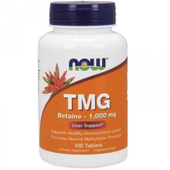 Триметилглицин Trimethylglycine (TMG) Now Foods