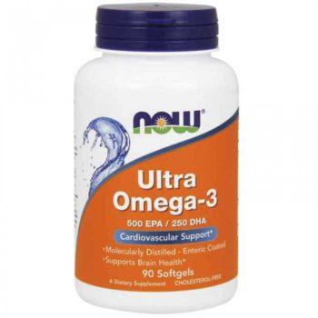Ультра Омега-3 (Ultra Omega-3) Now Foods