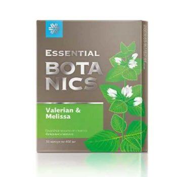 Валериана и мелисса Essential Botanics Сибирское Здоровье